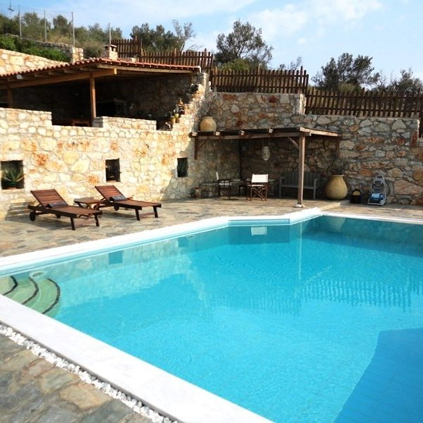 Luxury Hill Side Villa for Rent Nafplio Holiday Rentals Private Pool